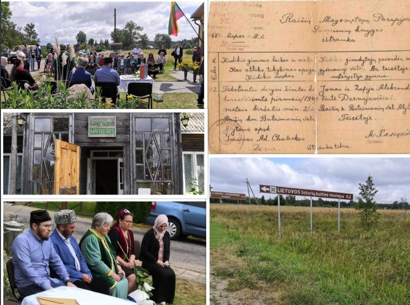 Lietuvos totoriai Kurban bairam šventė Subartonių kaimo bendruomenės namuose