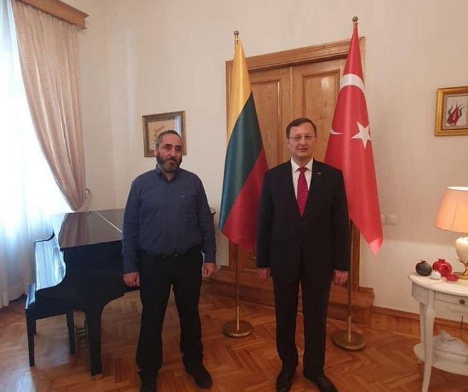 Diplomatinių santykių užmezgimo minėjimas Turkijos ambasados rezidencijoje