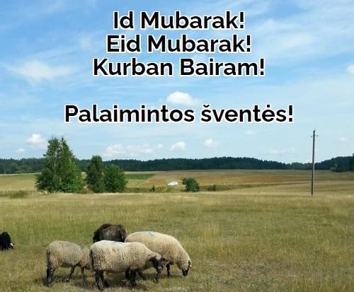 Lietuvos muftijaus A. Begansko sveikinimas Id ul-Adha (Kurban bairam) proga