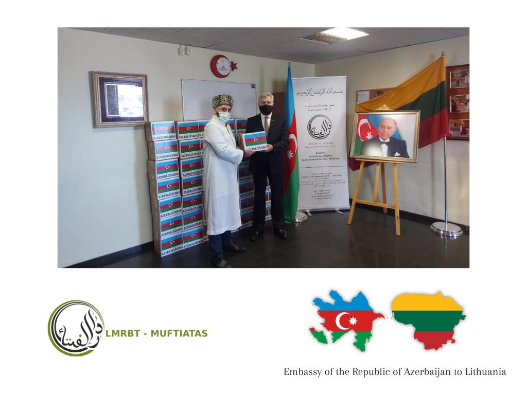 Ramadano sadakos projektas 2021 kartu su Azerbaidžano Respublikos ambasada