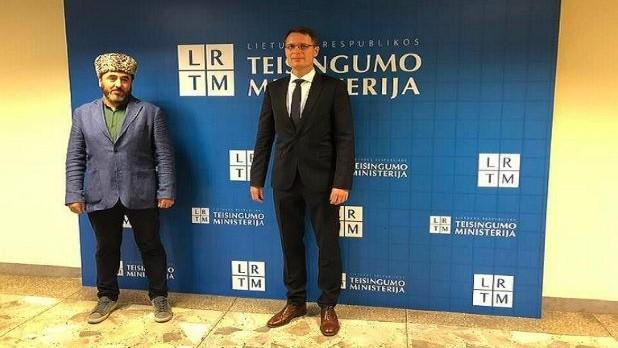 Susitikimas su Lietuvos Respublikos Teisingumo ministru